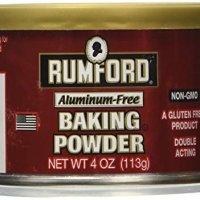 Rumford Baking Powder, Gluten Free, Aluminium Free 4 oz