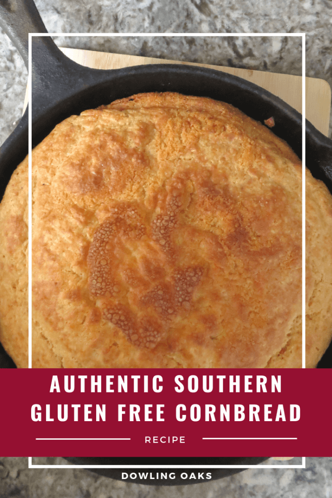 Cast Iron Gluten Free Cornbread Recipe