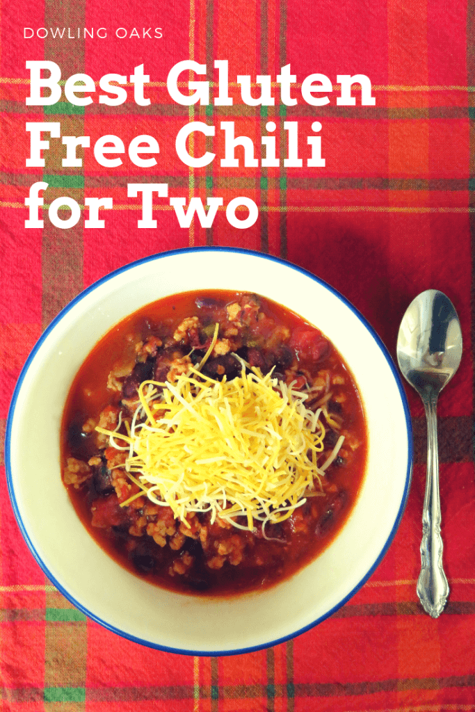 Easy Gluten Free Chili Recipe for Two People