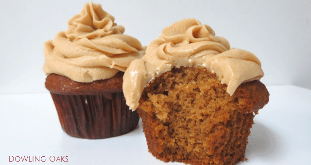 Moist and Fluffy Gluten Free Spice Cupcakes