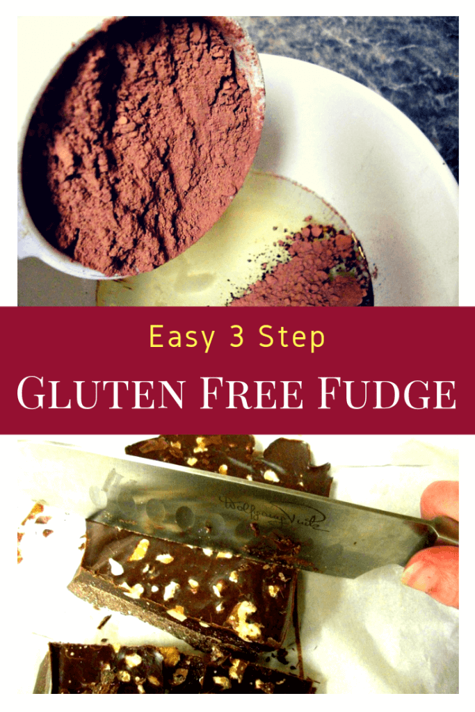 Healthy Gluten Free Fudge recipe