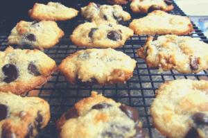 Healthy gluten free chocolate chip cookies recipe
