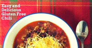 Quick and Easy Gluten Free Chili Recipe