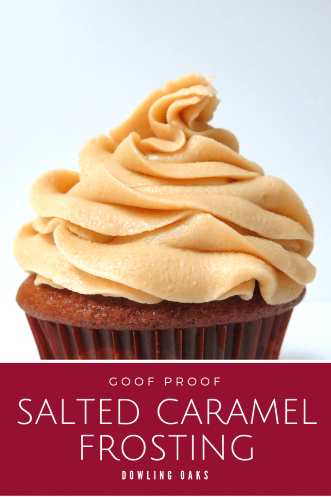 Quick salted caramel frosting for cupcakes and cakes
