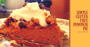 sugar free crustless pumpkin pie
